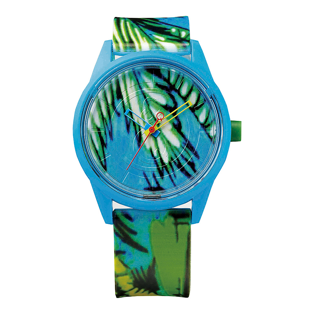 Q & Q Smile Solar Spice Collection Watch Blue Tropical - Q & Q Smile Solar Watches