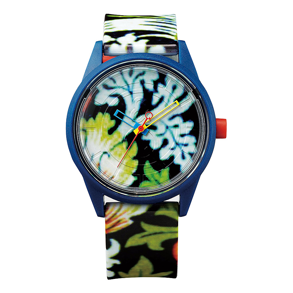 Q & Q Smile Solar Spice Collection Watch Multi Tropical - Q & Q Smile Solar Watches