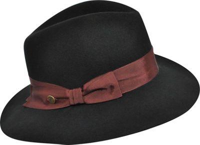 Karen Kane Hats Wide Brim Fedora Black-Small/Medium - Karen Kane Hats Hats/Gloves/Scarves