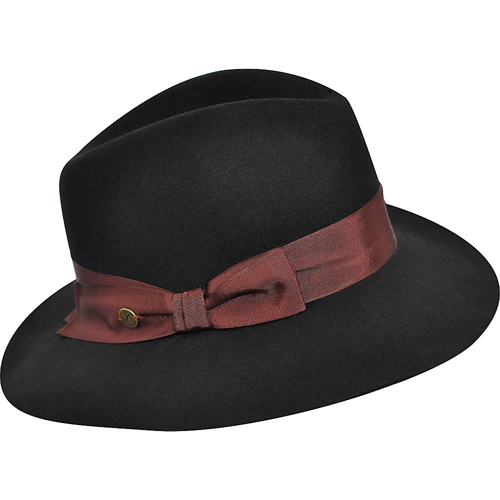 Karen Kane Hats Wide Brim Fedora Black Medium Large Karen Kane Hats Hats Gloves Scarves