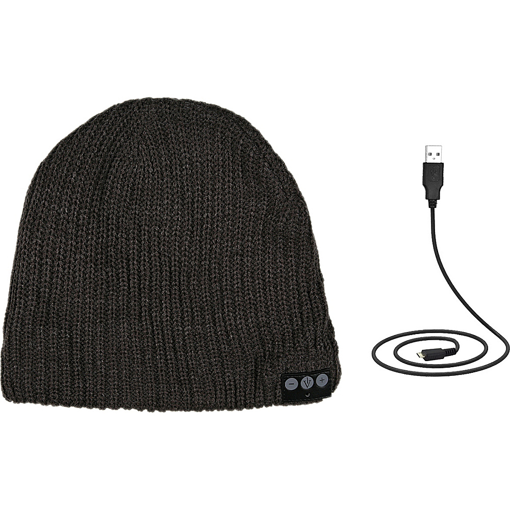 1Voice Bluetooth Beanie Charcoal 1Voice Headphones Speakers