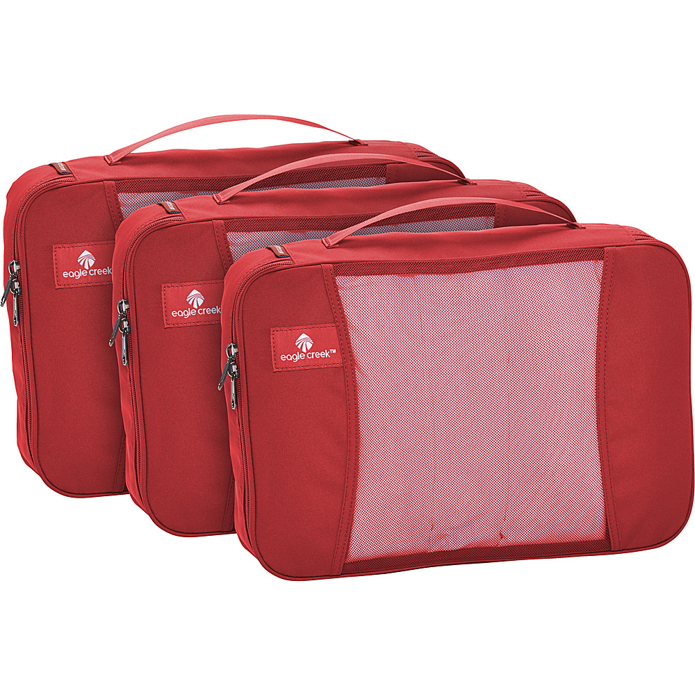 Eagle Creek Pack-It Full Cube Set Red Fire - Eagle Creek Travel Organizers