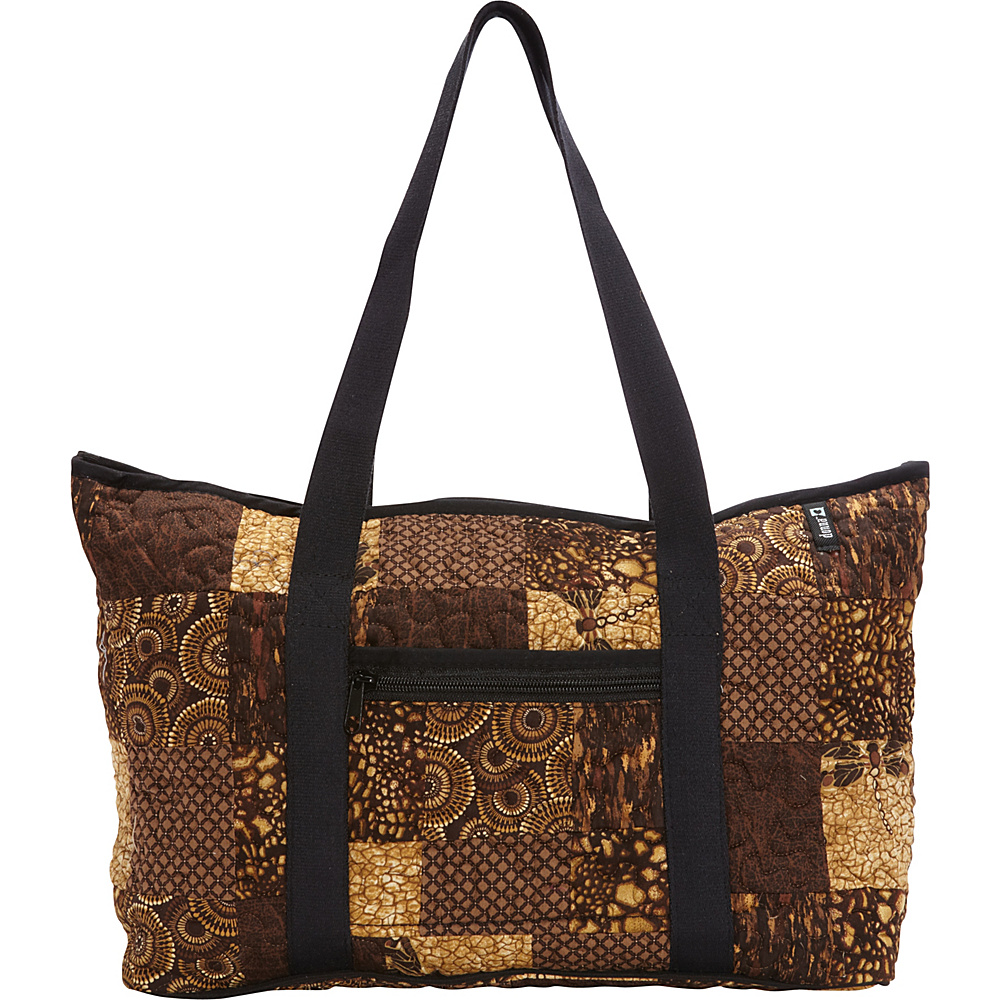 Donna Sharp Medium Medina Shoulder Bag Exclusive Dragonfly Donna Sharp Fabric Handbags