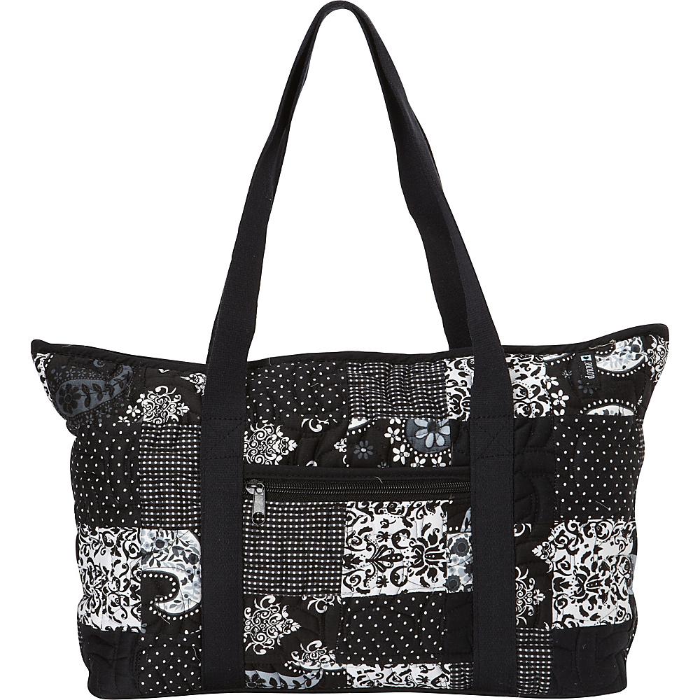 Donna Sharp Medium Medina Shoulder Bag - Exclusive Emblem - Donna Sharp Fabric Handbags