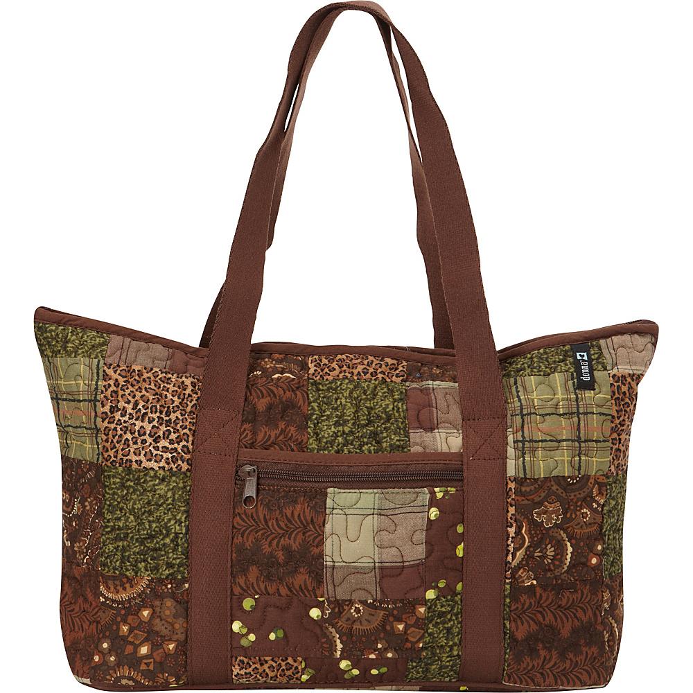 Donna Sharp Medium Medina Shoulder Bag - Exclusive Safari - Donna Sharp Fabric Handbags