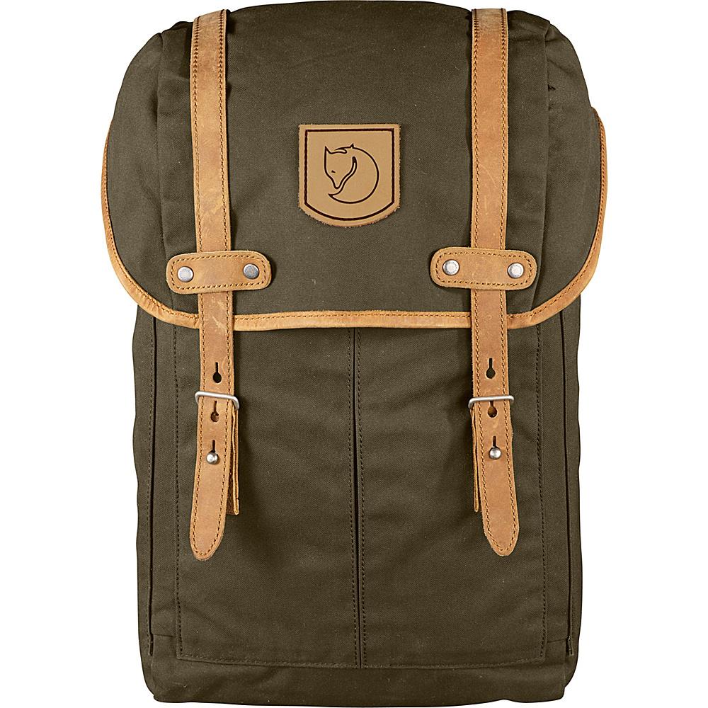 Fjallraven Rucksack No.21 Small Dark Olive - Fjallraven Business & Laptop Backpacks - Backpacks, Business & Laptop Backpacks
