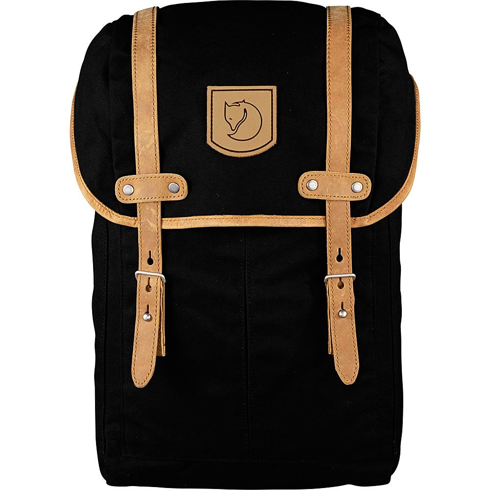 Fjallraven Rucksack No.21 Small Black - Fjallraven Business & Laptop Backpacks - Backpacks, Business & Laptop Backpacks