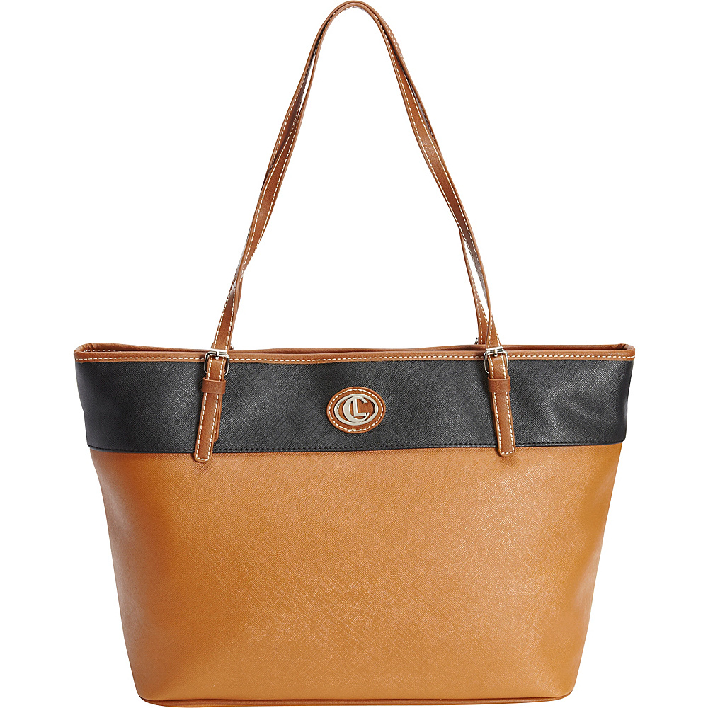 Aurielle Carryland Carryall Tote Tobacco Aurielle Carryland Manmade Handbags
