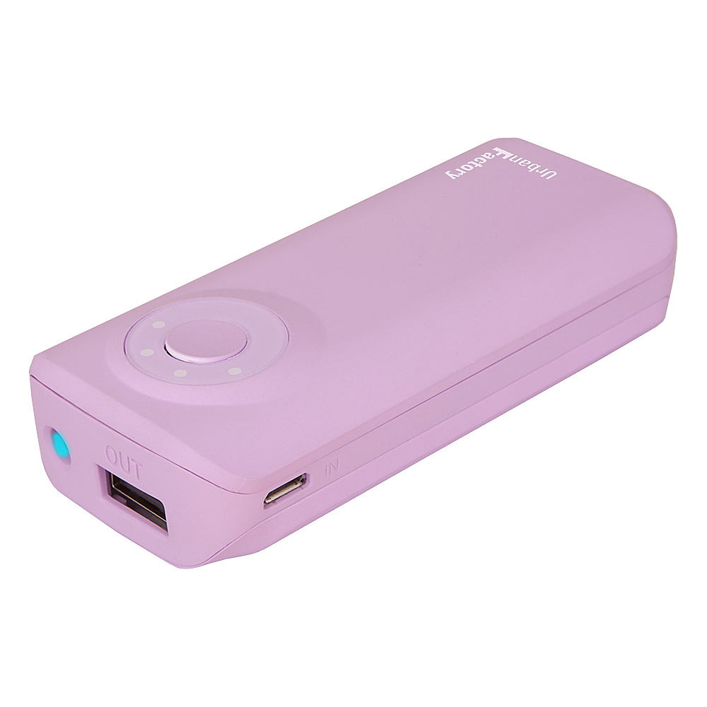 Urban Factory Emergency Battery 5600 mAh Purple Urban Factory Portable Batteries Chargers