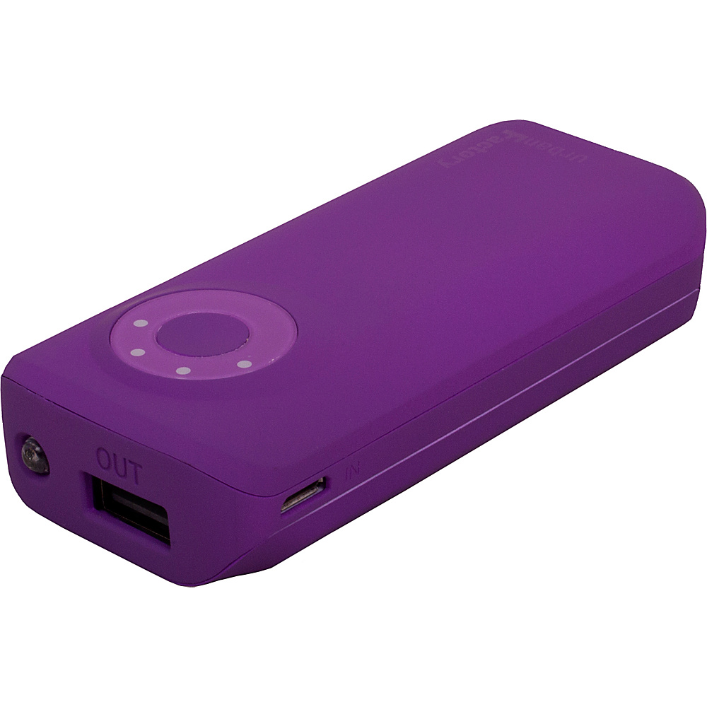 Urban Factory Emergency Battery 5600 mAh Dark Purple Urban Factory Portable Batteries Chargers