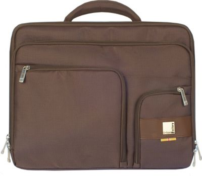 Urban Factory Moda Case 16 inch Brown - Urban Factory Messenger Bags