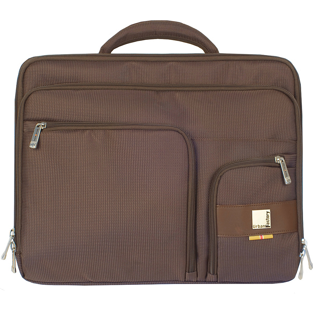 Urban Factory Moda Case 16 Brown Urban Factory Messenger Bags