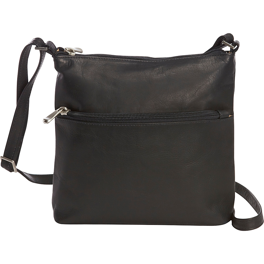 Le Donne Leather Ursula Crossbody Black - Le Donne Leather Leather Handbags - Handbags, Leather Handbags
