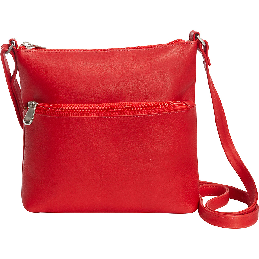 Le Donne Leather Ursula Crossbody Red - Le Donne Leather Leather Handbags - Handbags, Leather Handbags