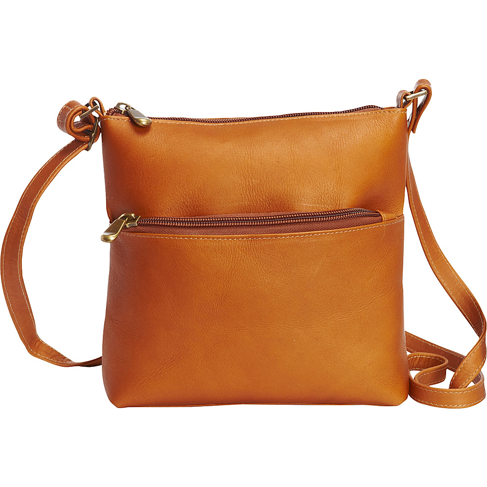 Le Donne Leather Ursula Crossbody Tan - Le Donne Leather Leather Handbags - Handbags, Leather Handbags