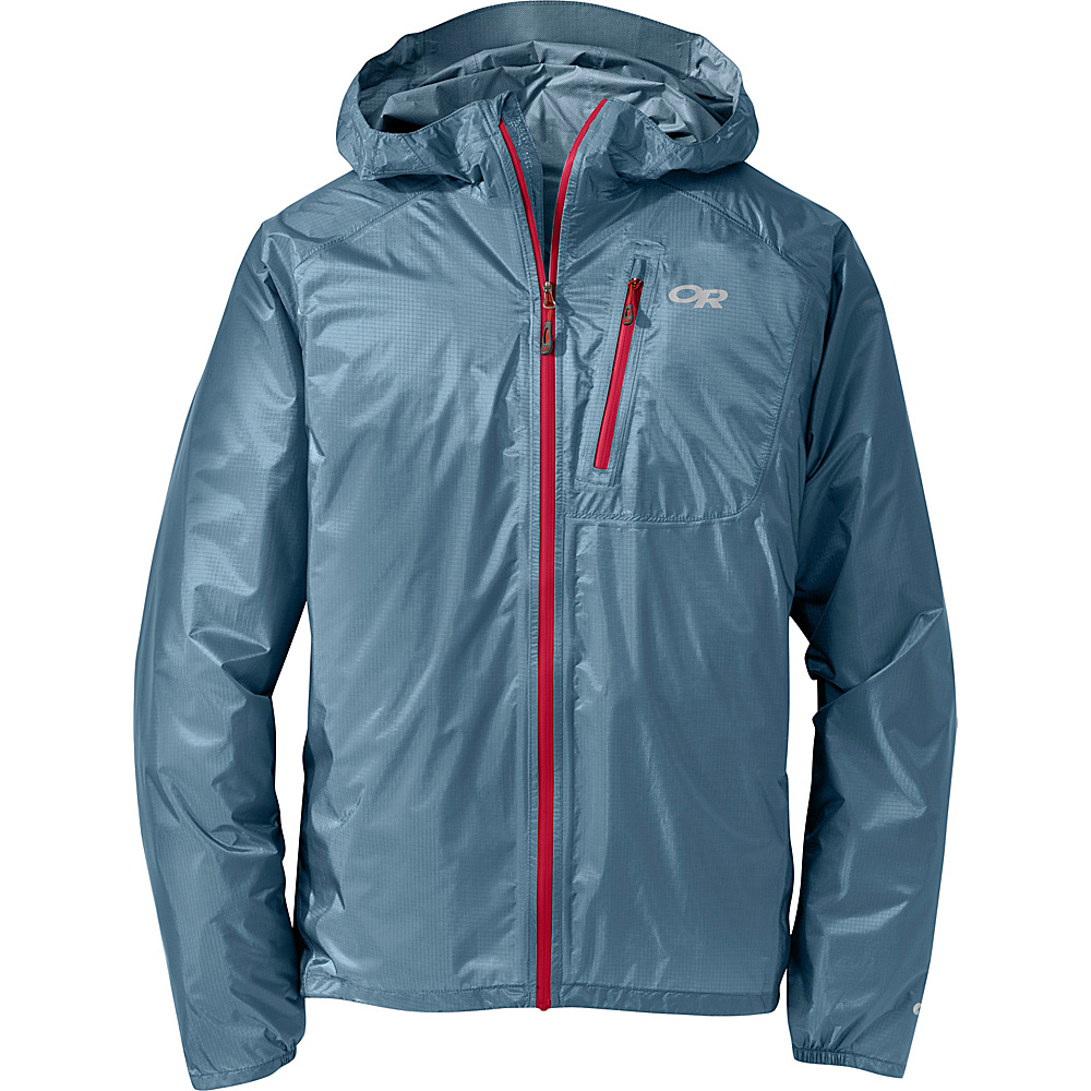 Outdoor Research Mens Helium II Jacket M - Vintage/Agate - Outdoor Research Mens Apparel - Apparel & Footwear, Men's Apparel
