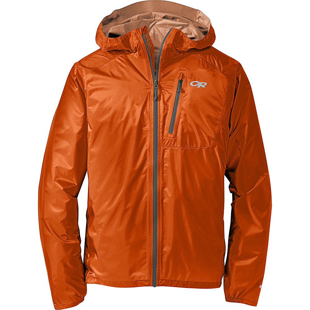Outdoor Research Mens Helium II Jacket XXL - Ember - Outdoor Research Mens Apparel - Apparel & Footwear, Men's Apparel