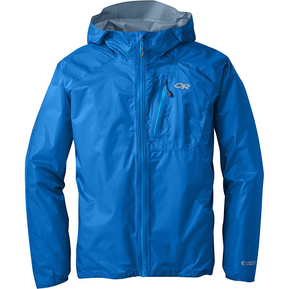 Outdoor Research Mens Helium II Jacket S - Glacier - Outdoor Research Mens Apparel - Apparel & Footwear, Men's Apparel