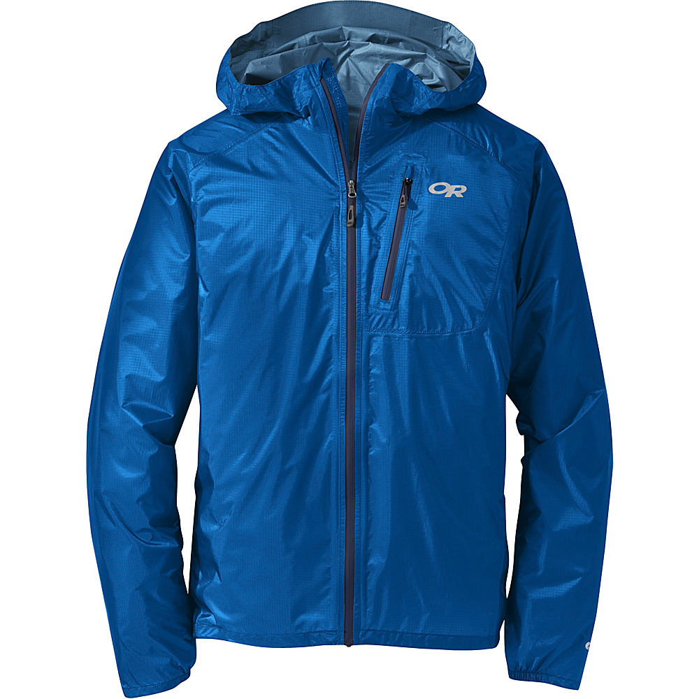 Outdoor Research Mens Helium II Jacket M - Glacier - Outdoor Research Mens Apparel - Apparel & Footwear, Men's Apparel