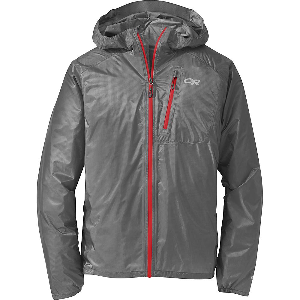 Outdoor Research Mens Helium II Jacket XL - Glacier - Outdoor Research Mens Apparel - Apparel & Footwear, Men's Apparel