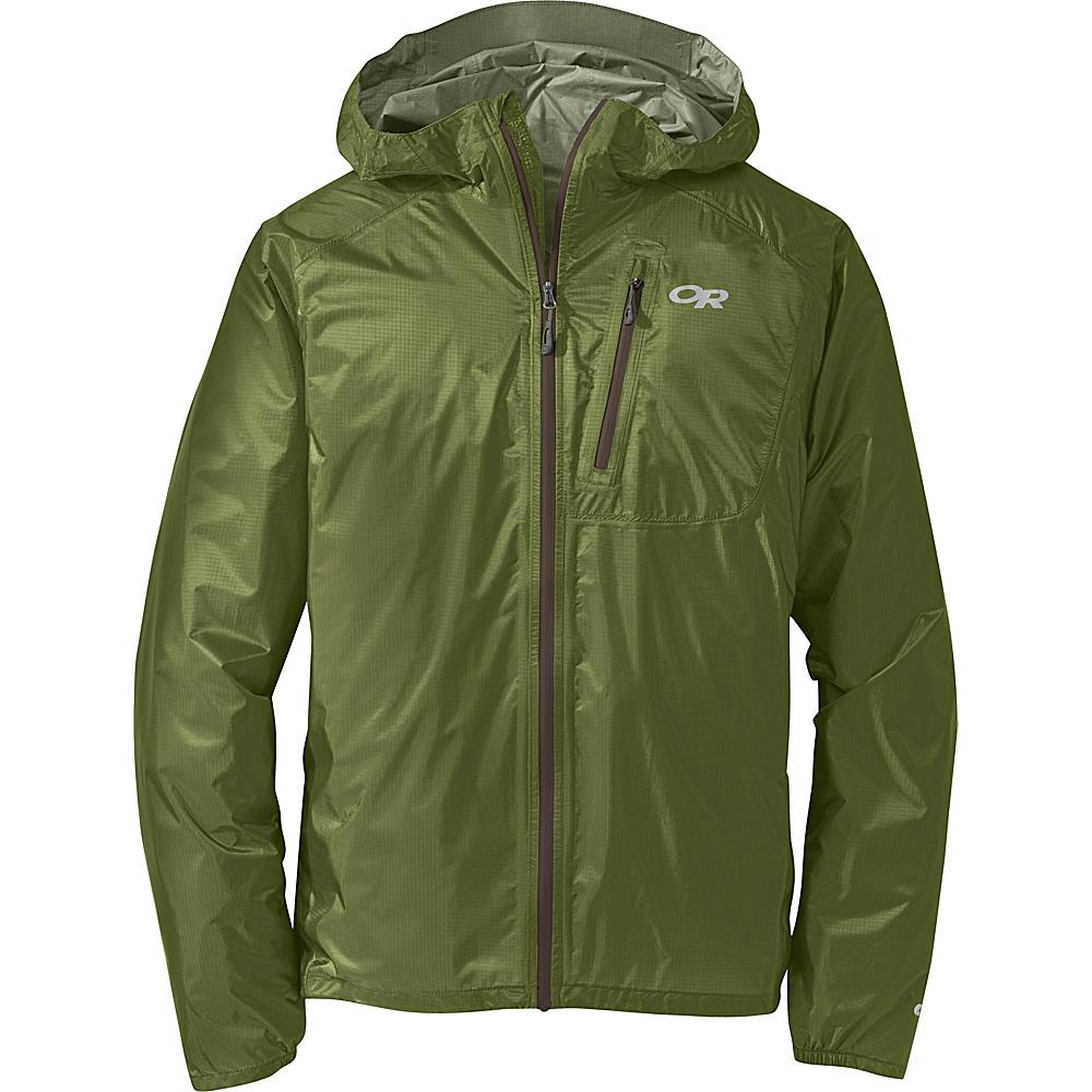 Outdoor Research Mens Helium II Jacket XL - Hot Sauce - Outdoor Research Mens Apparel - Apparel & Footwear, Men's Apparel