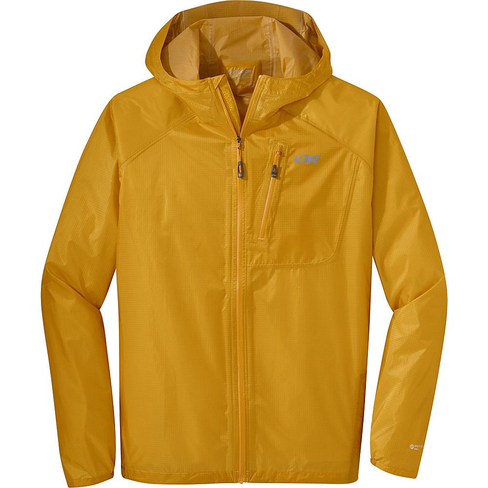 Outdoor Research Mens Helium II Jacket 2XL - Hot Sauce - Outdoor Research Mens Apparel - Apparel & Footwear, Men's Apparel