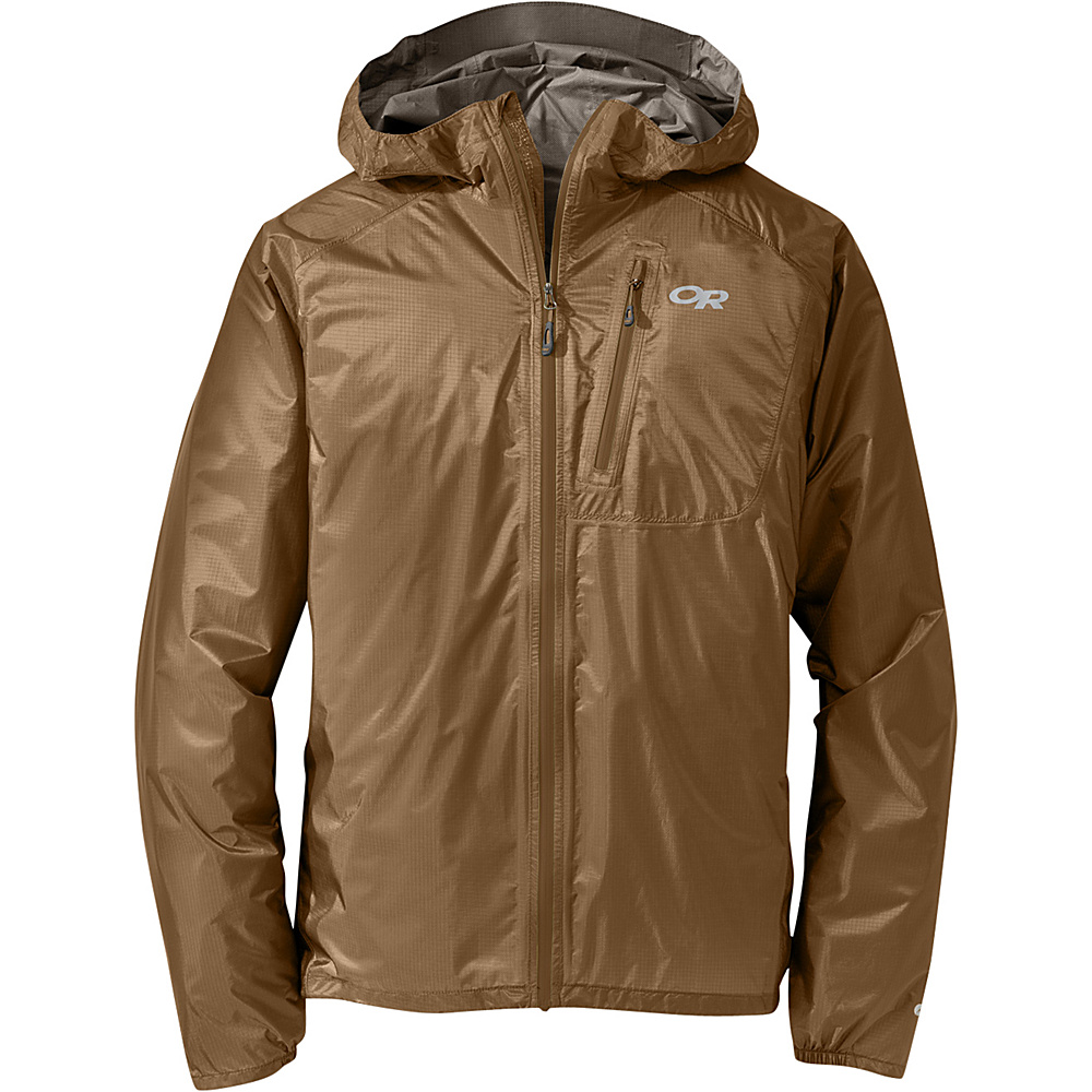 Outdoor Research Mens Helium II Jacket S - Coyote - Outdoor Research Mens Apparel - Apparel & Footwear, Men's Apparel