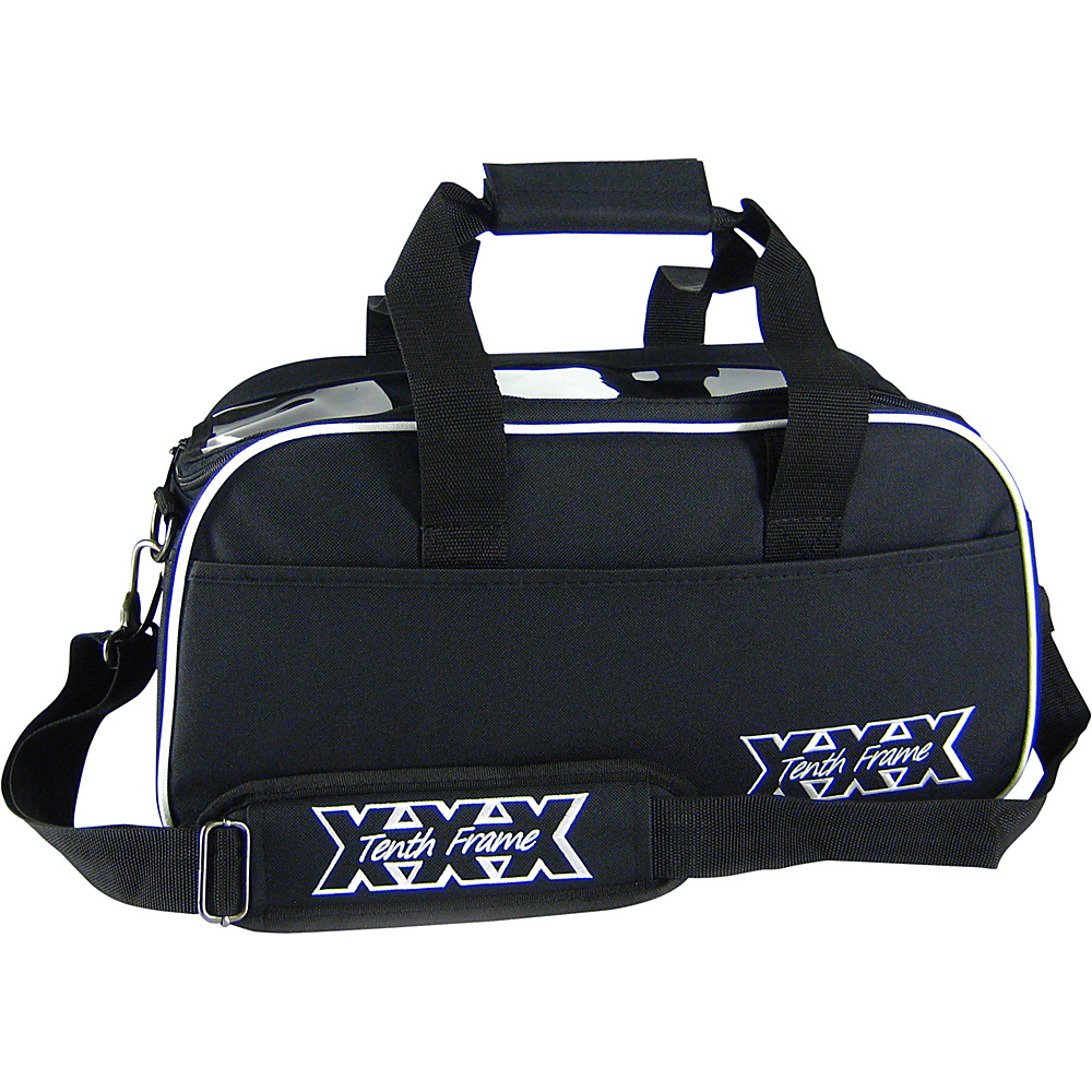 Tenth Frame Boost Double Tote Black - Tenth Frame Bowling Bags