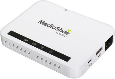 IOGEAR MediaShair 2 Wireless Media Hub and Power Station White - IOGEAR Electronic Accessories