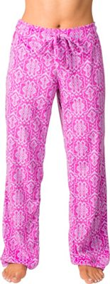 Soybu Fleece Lounge Pant XL - Purple Script - Soybu Women's Apparel