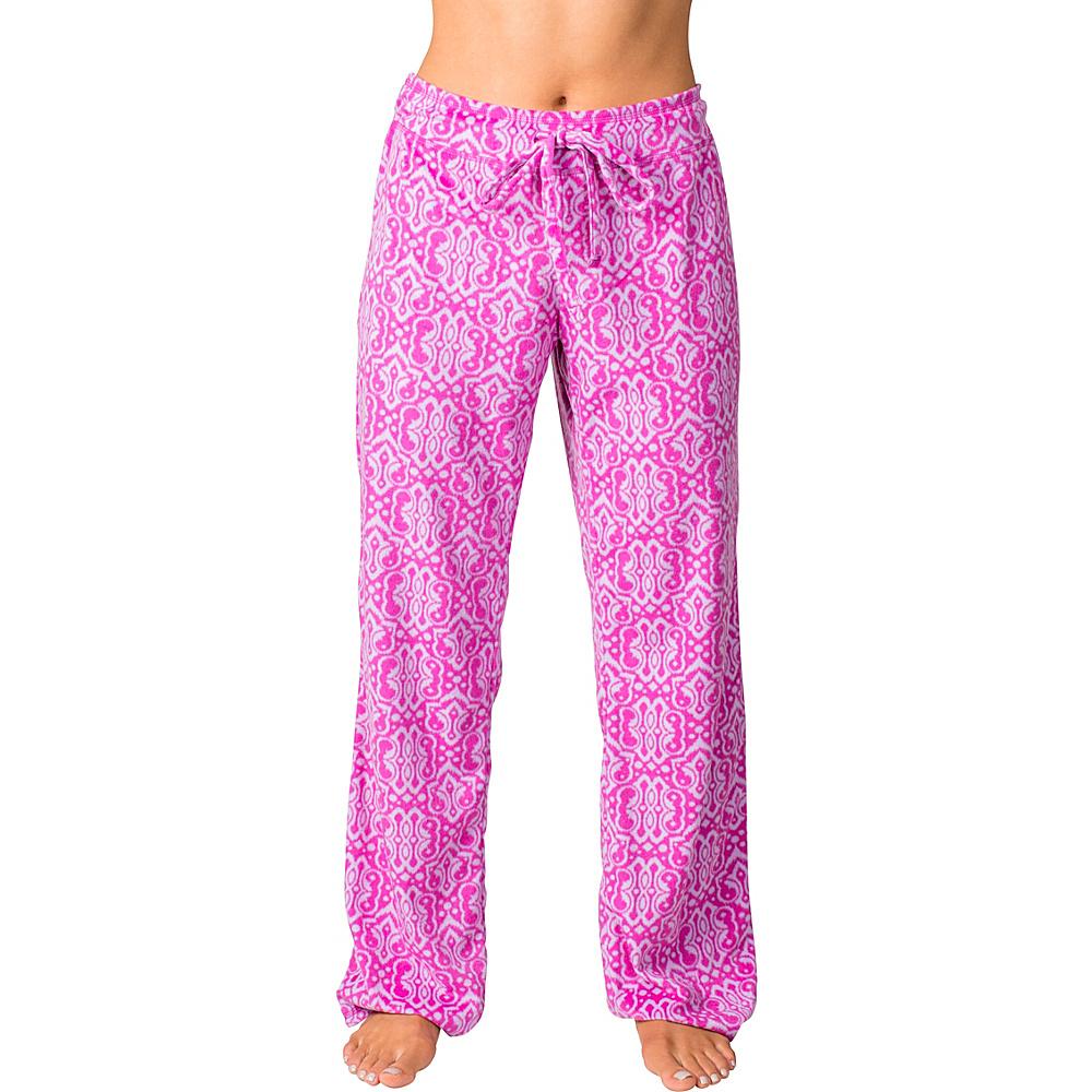 Soybu Fleece Lounge Pant XL - Purple Script - Soybu Womens Apparel - Apparel & Footwear, Women's Apparel