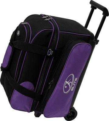 Elite Bowling Deuce Bowling Bag Purple/Black - Elite Bowling Bowling Bags