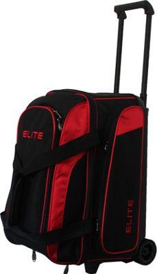 Elite Bowling Deuce Bowling Bag Red/Black - Elite Bowling Bowling Bags