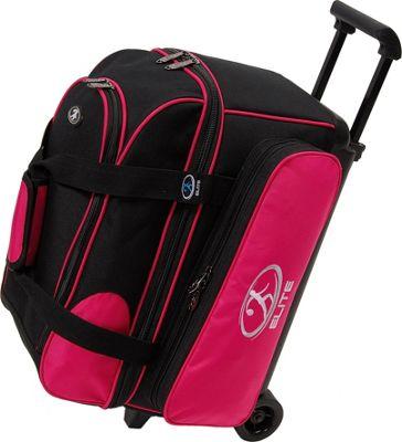 Elite Bowling Deuce Bowling Bag Pink/Black - Elite Bowling Bowling Bags