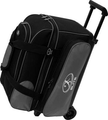 Elite Bowling Deuce Bowling Bag Silver/Black - Elite Bowling Bowling Bags