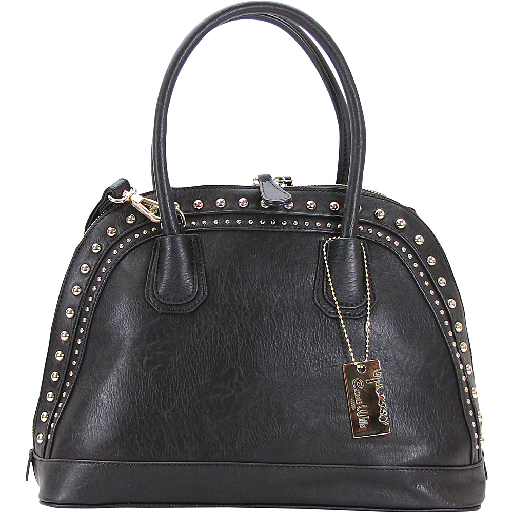Chasse Wells Brise Tote Black Chasse Wells Manmade Handbags