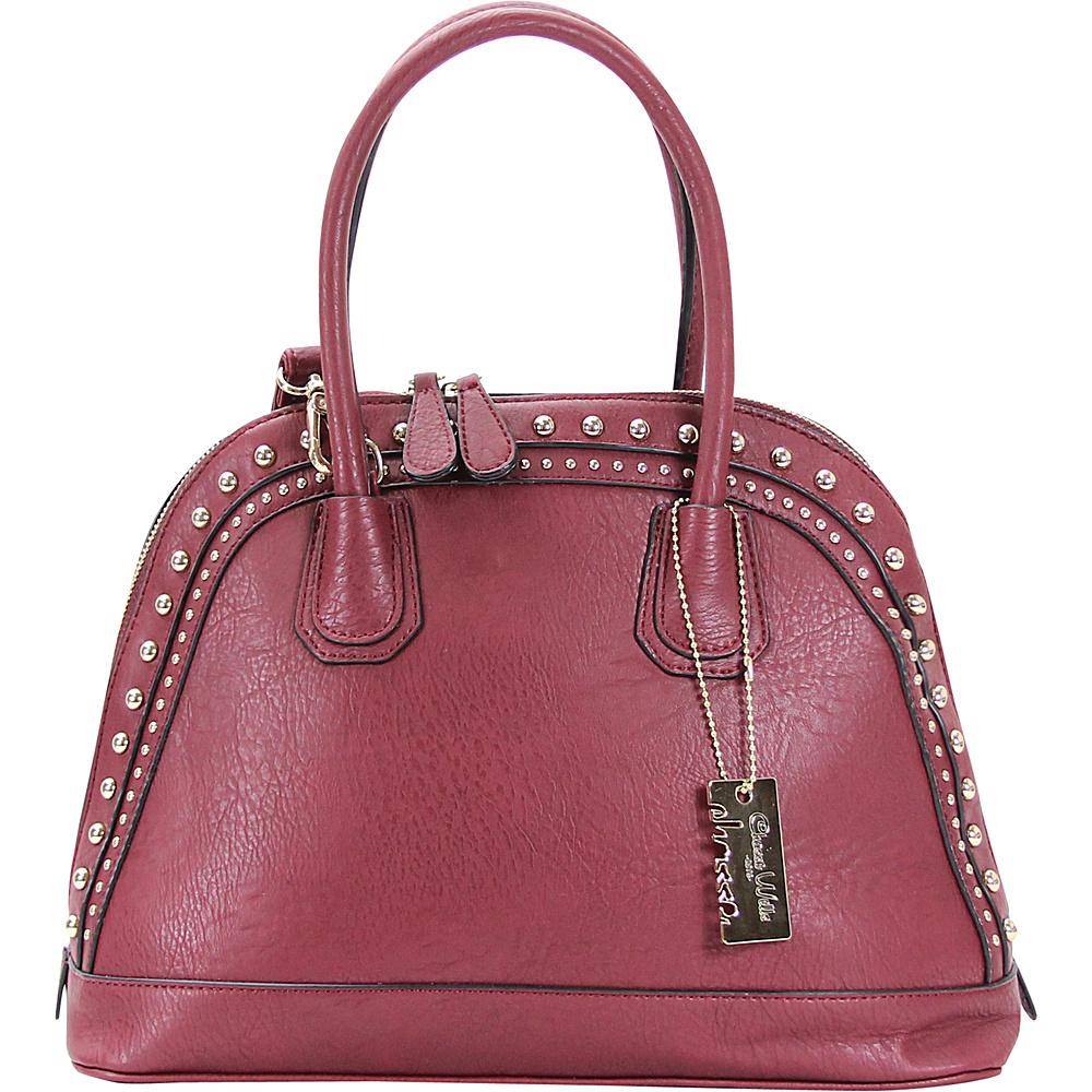 Chasse Wells Brise Tote Plum Chasse Wells Manmade Handbags