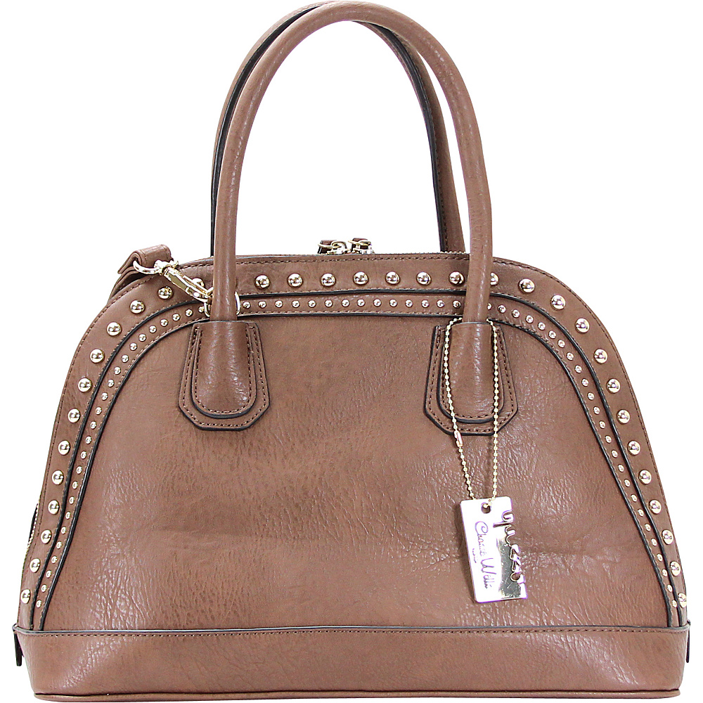 Chasse Wells Brise Tote Coffee Chasse Wells Manmade Handbags