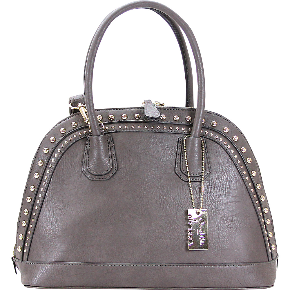 Chasse Wells Brise Tote Gray Chasse Wells Manmade Handbags