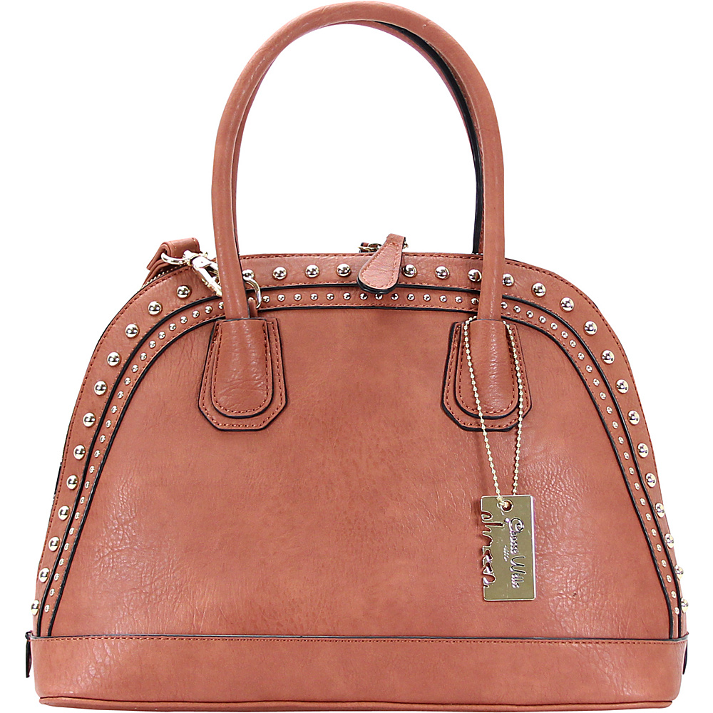 Chasse Wells Brise Tote Rusty Pink Chasse Wells Manmade Handbags