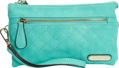 Diophy Quilted Crossbody Mint - Diophy Manmade Handbags