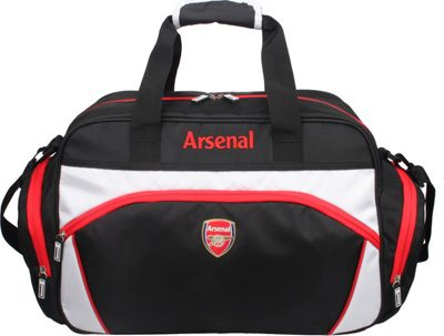 Image of Arsenal Team Sport Bag Small Black - Arsenal Team All Purpose Duffels