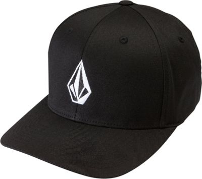 Volcom Full Stone Xfit Hat S/M - Black - Volcom Hats/Gloves/Scarves