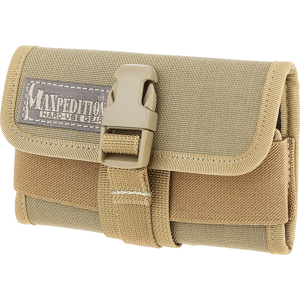 Maxpedition Horizontal Smart Phone Holster Khaki Maxpedition Electronic Cases