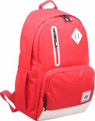 AfterGen Back to School Backpack Red - AfterGen Business & Laptop Backpacks