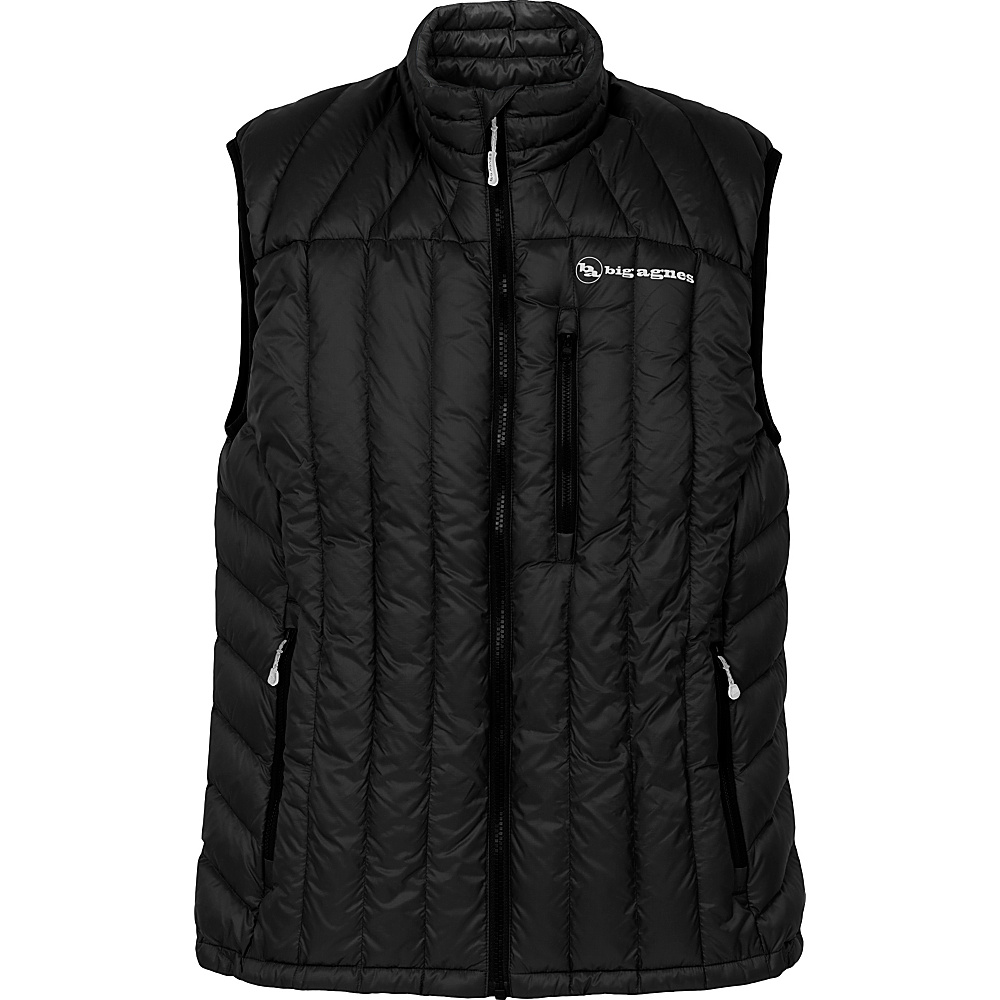 Big Agnes Mens Ways Gulch Vest XL Black Cool Gray Big Agnes Men s Apparel