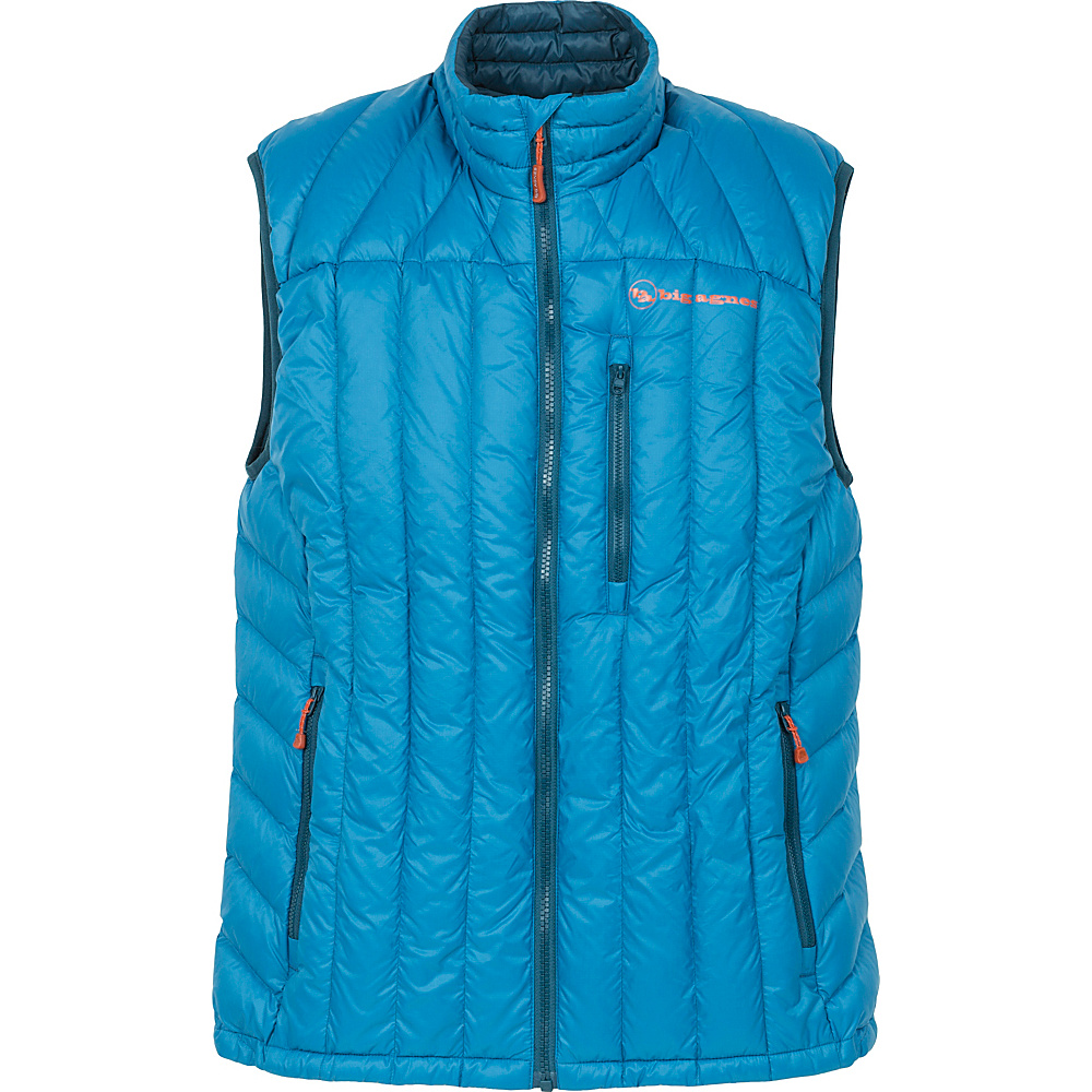 Big Agnes Mens Ways Gulch Vest 2XL Black Cool Gray Big Agnes Men s Apparel