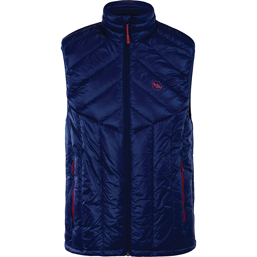 Big Agnes Mens Ways Gulch Vest S Estate Blue Estate Blue Big Agnes Men s Apparel