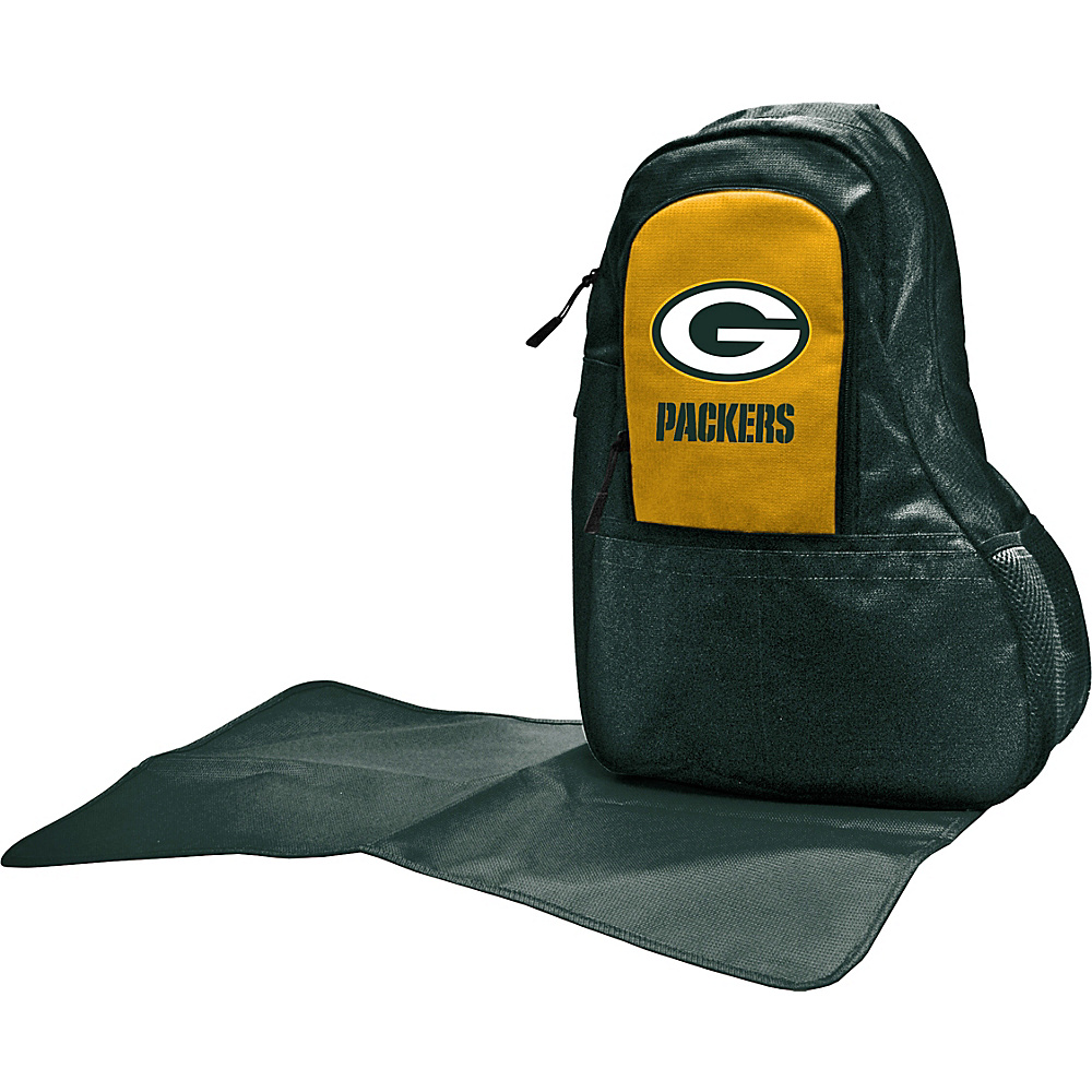 Lil Fan NFL Sling Bag Green Bay Packers - Lil Fan Diaper Bags & Accessories