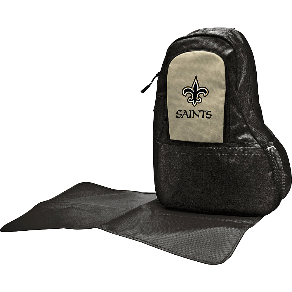 Lil Fan NFL Sling Bag New Orleans Saints Lil Fan Diaper Bags Accessories
